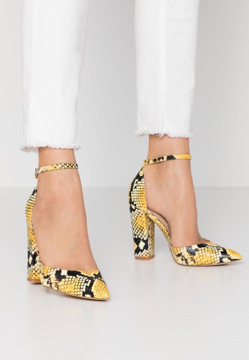 ALDO - NICHOLES - High heels - yellow