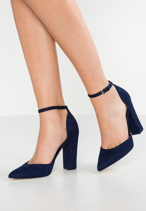 NICHOLES - High heels - navy