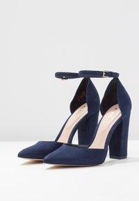 ALDO - NICHOLES - High heels - navy - 4