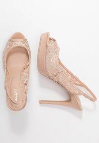 ALDO - DRERRADIA - Peeptoe heels - bone - 3