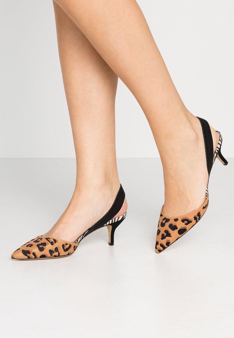 ALDO - LOVORELLE - Classic heels - brown