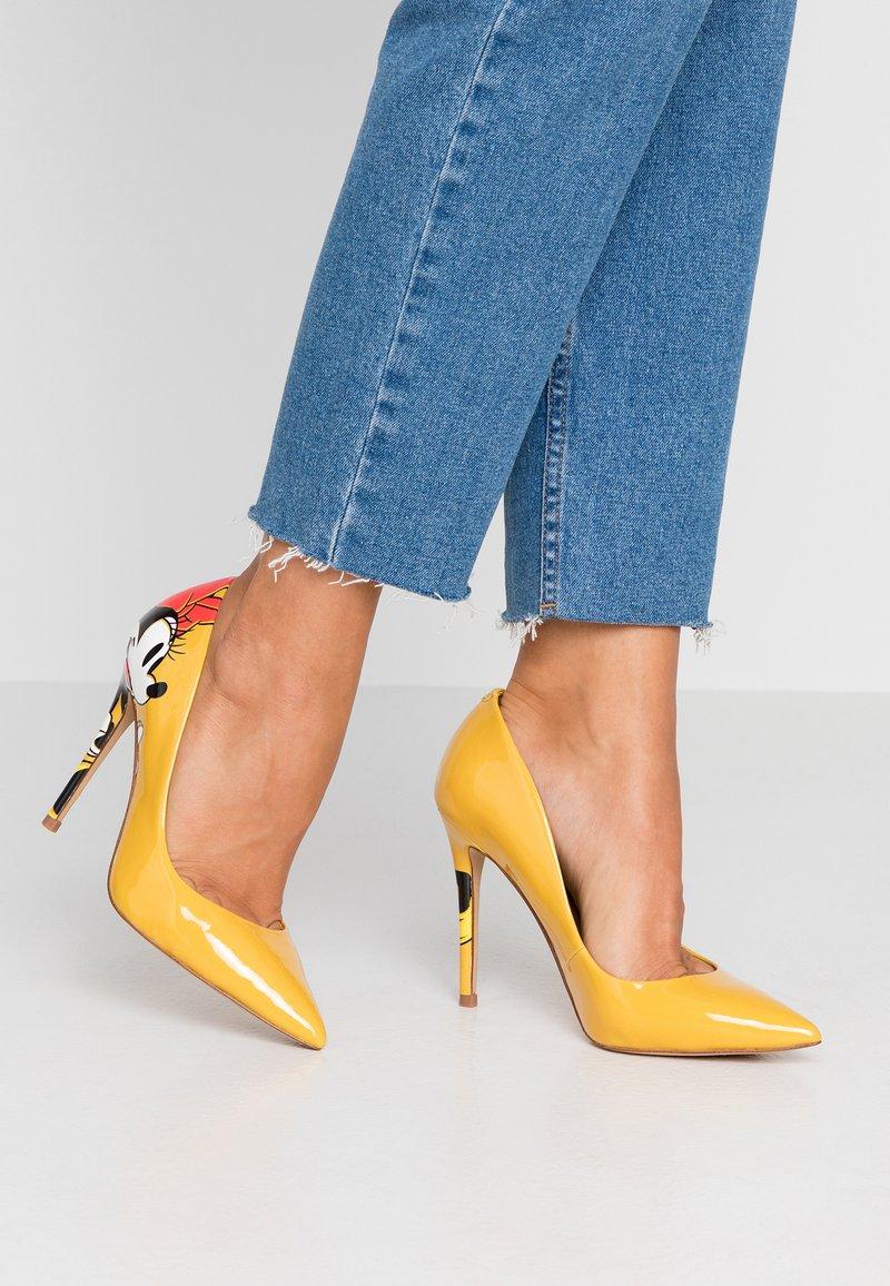 ALDO - STESSYMICKEY DISNEY - High heels - yellow