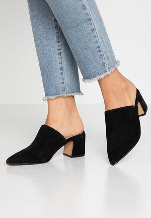 OCOASIEN - Heeled mules - black