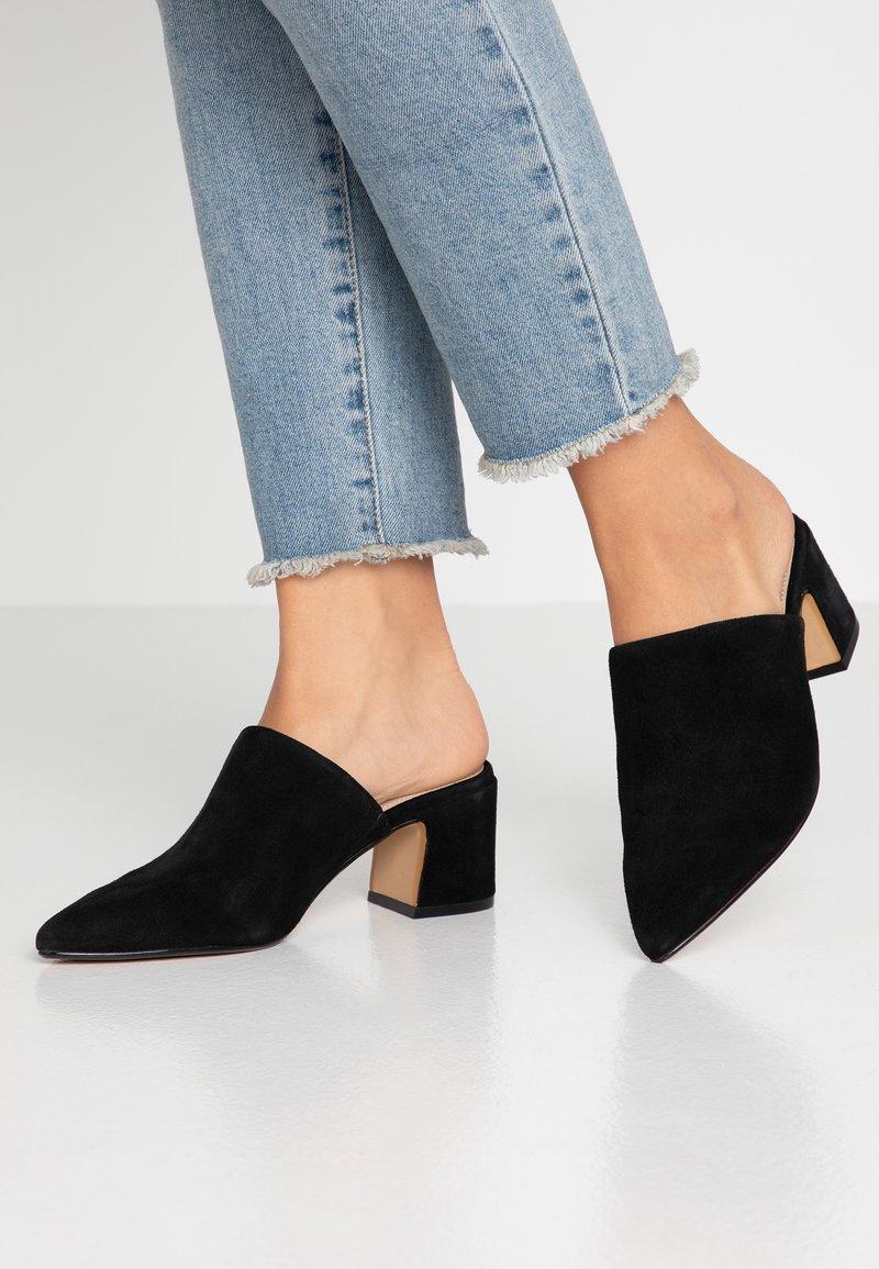 ALDO - OCOASIEN - Pantofle na podpatku - black