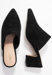 ALDO - OCOASIEN - Pantofle na podpatku - black - 3