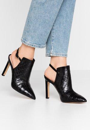 FIRLEIGH - Kotníková obuv na vysokém podpatku - other black