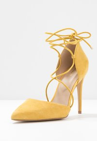 ALDO - FINSBURY - High heels - bright yellow - 4