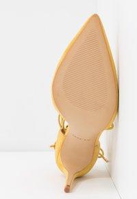 ALDO - FINSBURY - High heels - bright yellow - 6