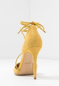 ALDO - FINSBURY - High heels - bright yellow - 5