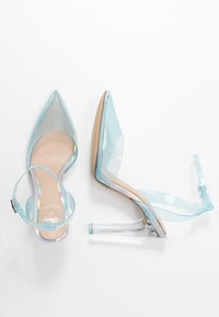 ALDO - ALDO x DISNEY - GLASSSLIPER - Hoge hakken - light blue - 3