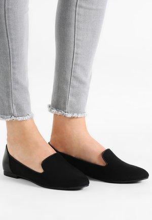 KAPPA - Nazouvací boty - black