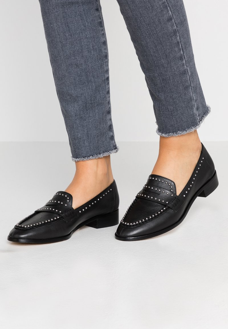ALDO - ONERRACIEN - Loaferit/pistokkaat - black