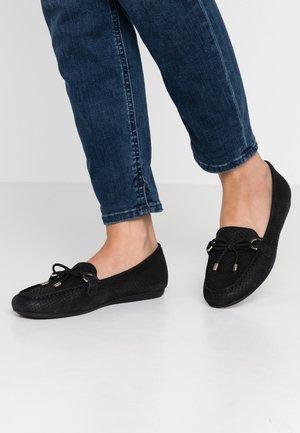 ADRERINIA - Nazouvací boty - black