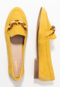 ALDO - GWAULITH - Slip-ons - yellow - 3