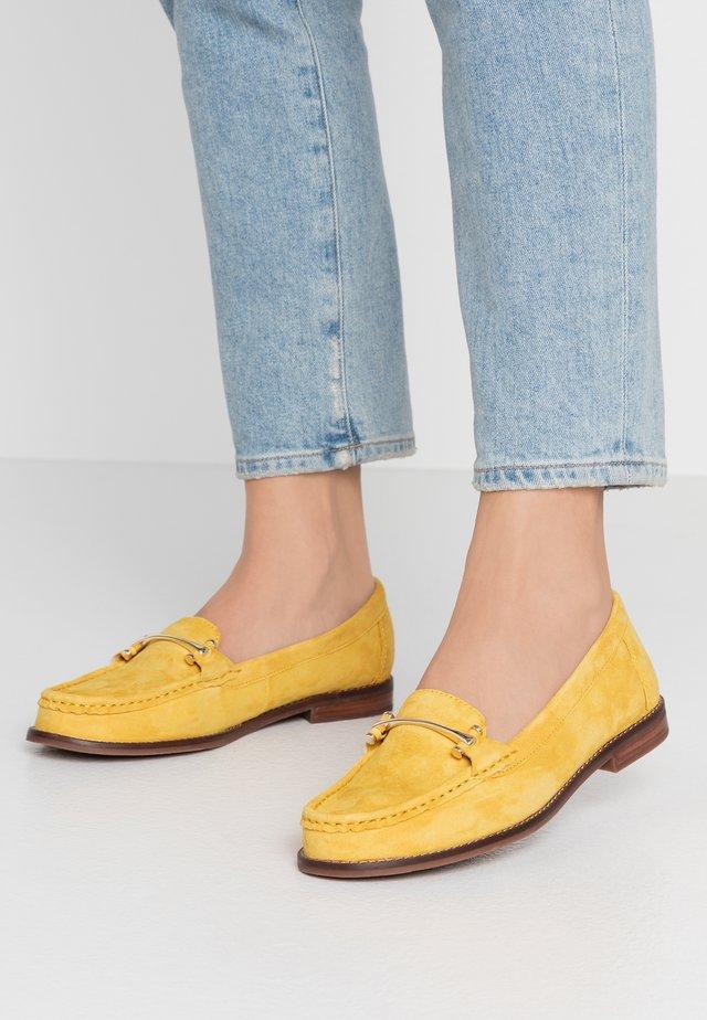 BERGALA - Mocassins - yellow