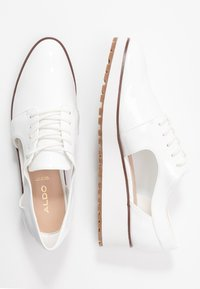 ALDO - LORAMY - Lace-ups - white - 3