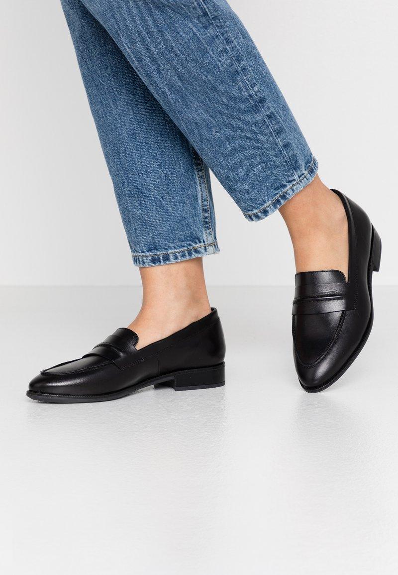ALDO - RALLINA - Nazouvací boty - black