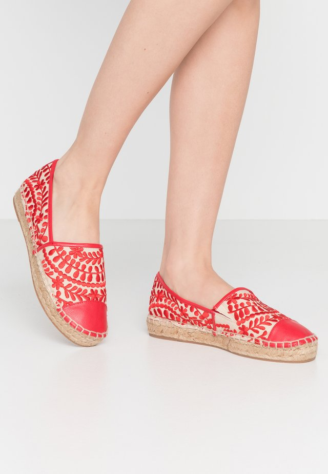 CINCO - Espadrille - red