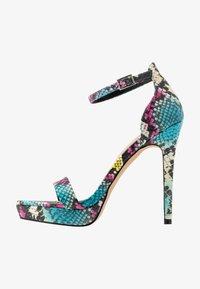 ALDO - MADALENE - High heeled sandals - silver - 1