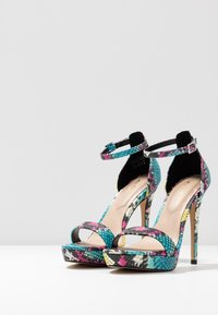 ALDO - MADALENE - High heeled sandals - silver - 4