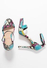 ALDO - MADALENE - High heeled sandals - silver - 3