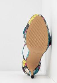 ALDO - MADALENE - Sandalen met hoge hak - silver - 6