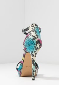 ALDO - MADALENE - High heeled sandals - silver - 5