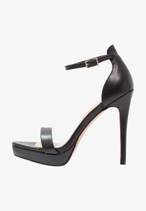 MADALENE - Sandaler med høye hæler - black