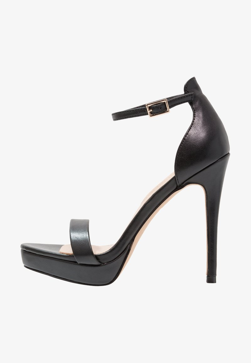 ALDO - MADALENE - Højhælede sandaletter / Højhælede sandaler - black