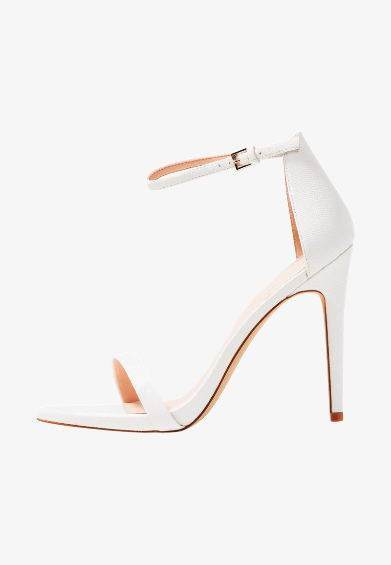 ALDO - CARAA - High heeled sandals - white