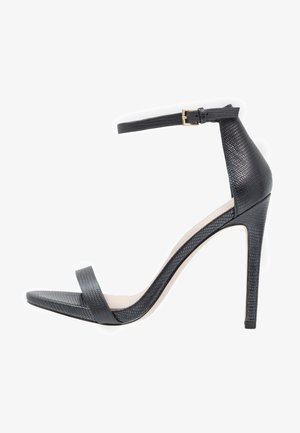 CARAA - High Heel Sandalette - black
