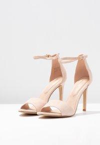 ALDO - FIOLLA - Sandály na vysokém podpatku - creme - 4