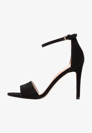 FIOLLA - Sandály na vysokém podpatku - black