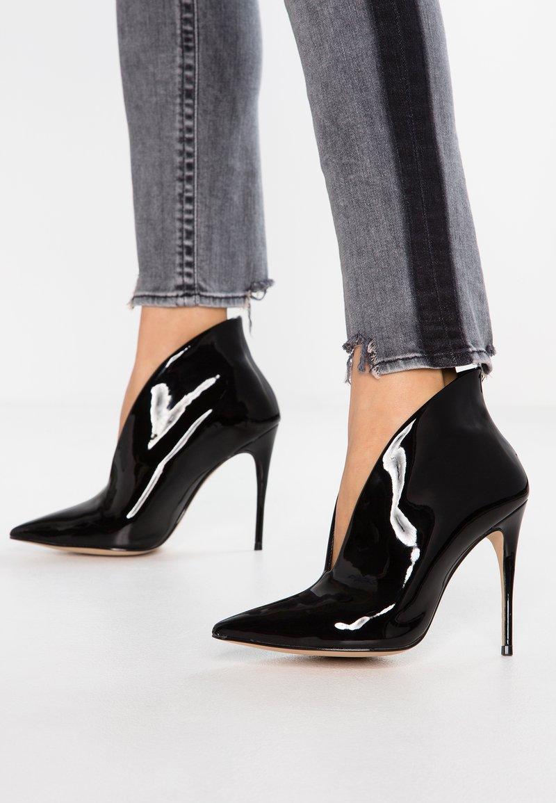 ALDO - MELIDITH - High Heel Stiefelette - black