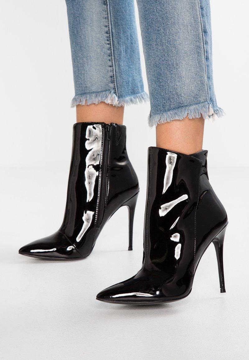 ALDO - MEREALONNA - Højhælede støvletter - black