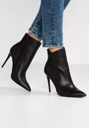 MEREALONNA - High heeled ankle boots - black