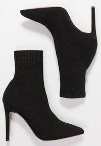 ALDO - YSISSA - Kotníková obuv na vysokém podpatku - black - 3