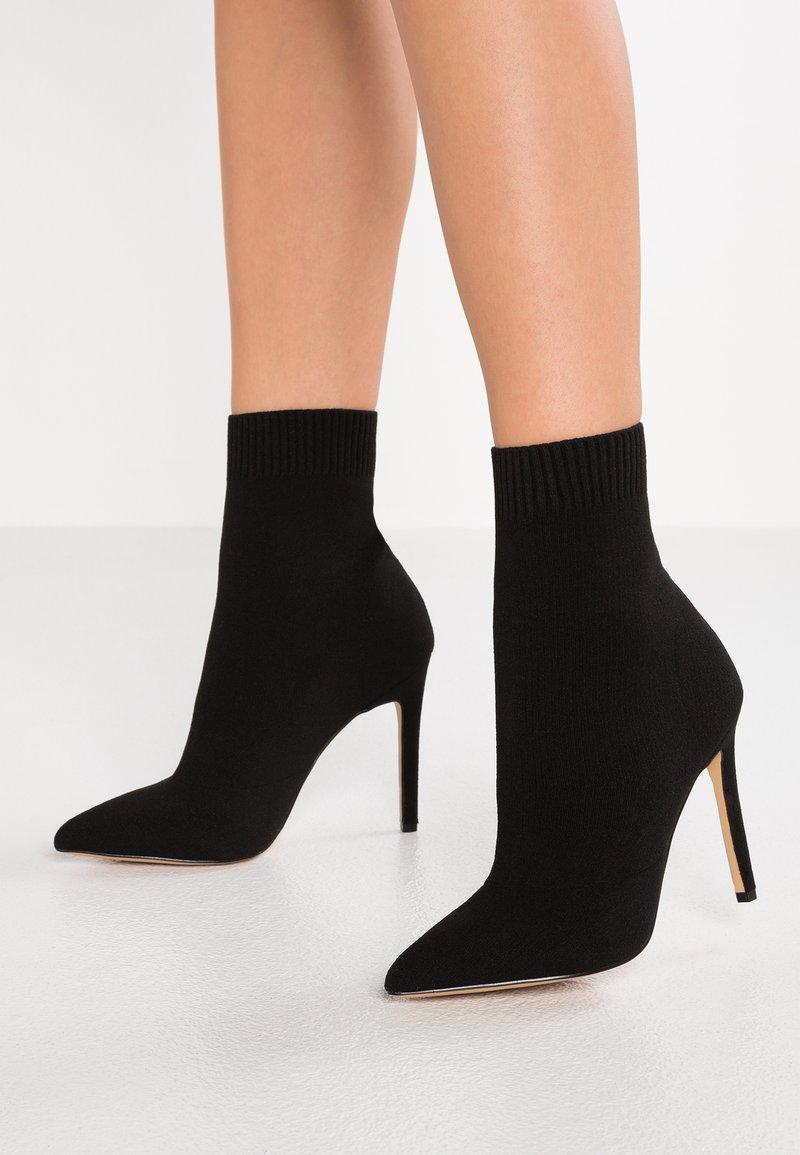 ALDO - YSISSA - Kotníková obuv na vysokém podpatku - black