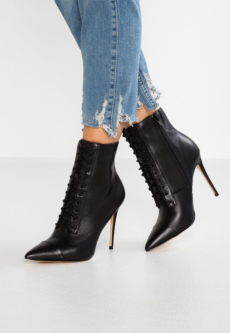 ALDO - ALYLYAN - Ankelboots med høye hæler - black
