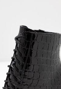 ALDO - ALYLYAN - High heeled ankle boots - black - 2