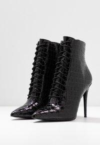 ALDO - ALYLYAN - High heeled ankle boots - black - 4