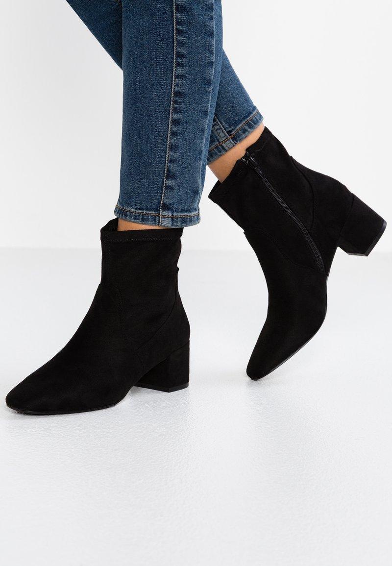 ALDO - LOTHELIMMA - Korte laarzen - black