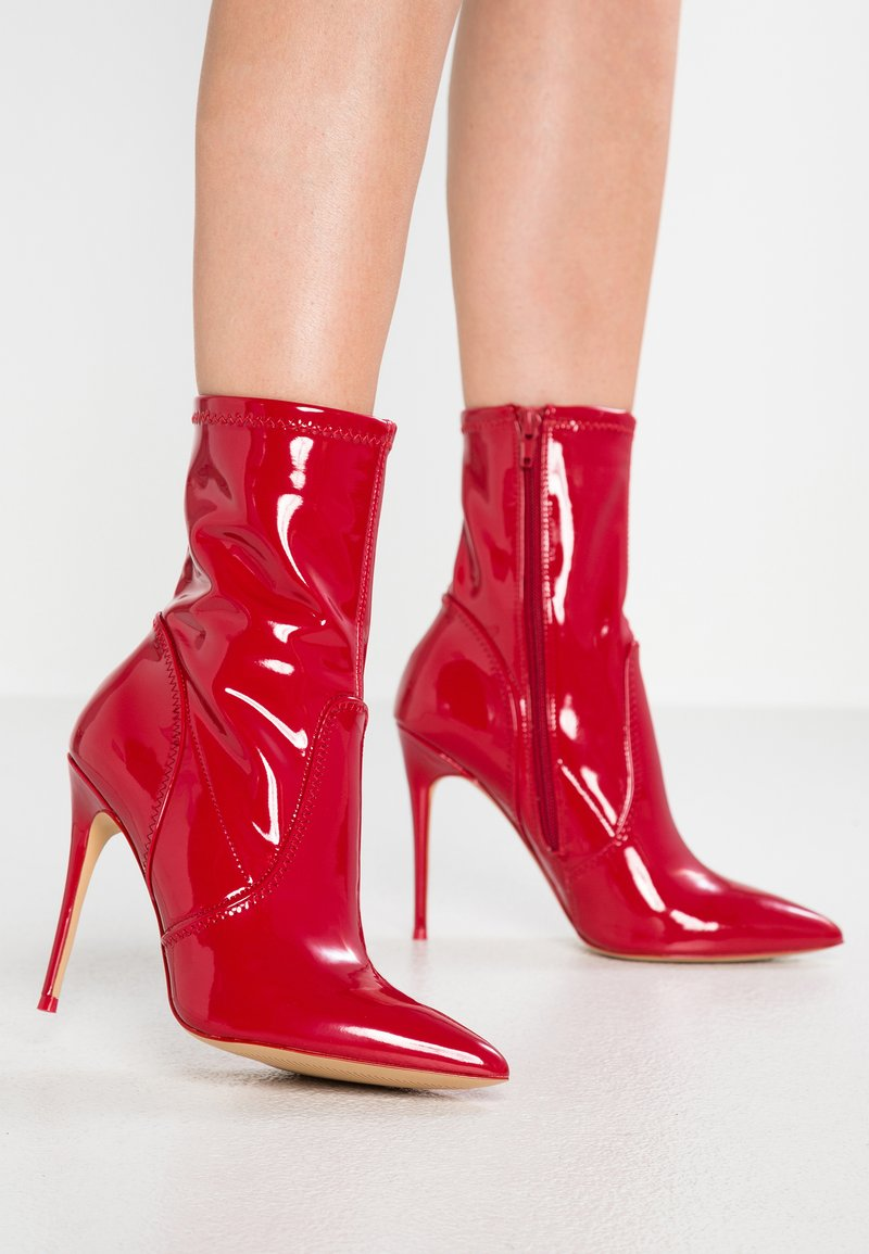 ALDO - JOMES - High Heel Stiefelette - red