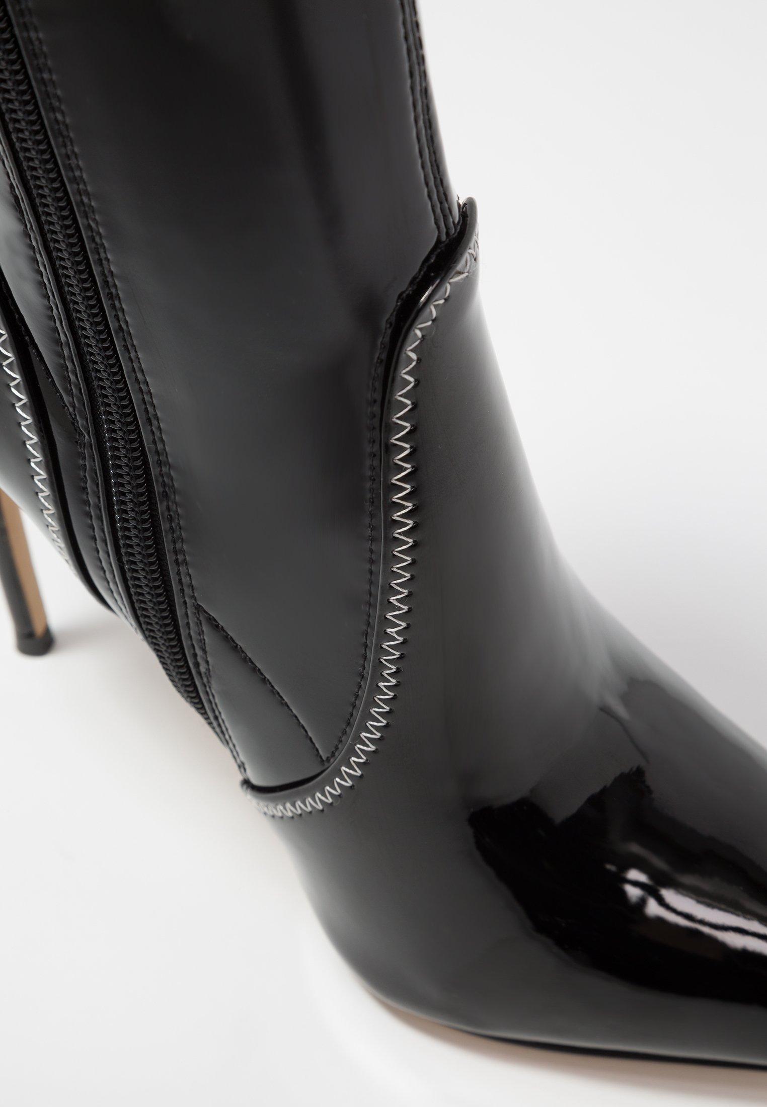 ALDO JOMES - Bottines à talons hauts - black black