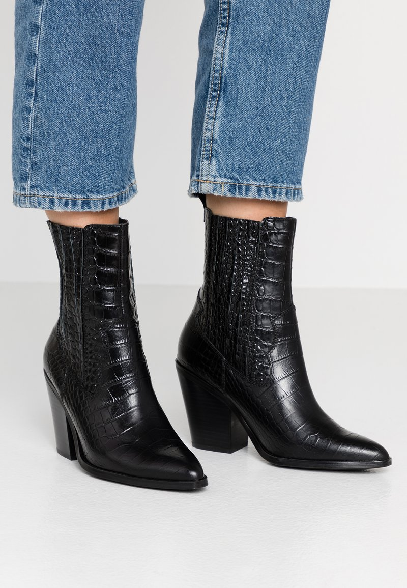ALDO - DRERISSA - High Heel Stiefelette - black