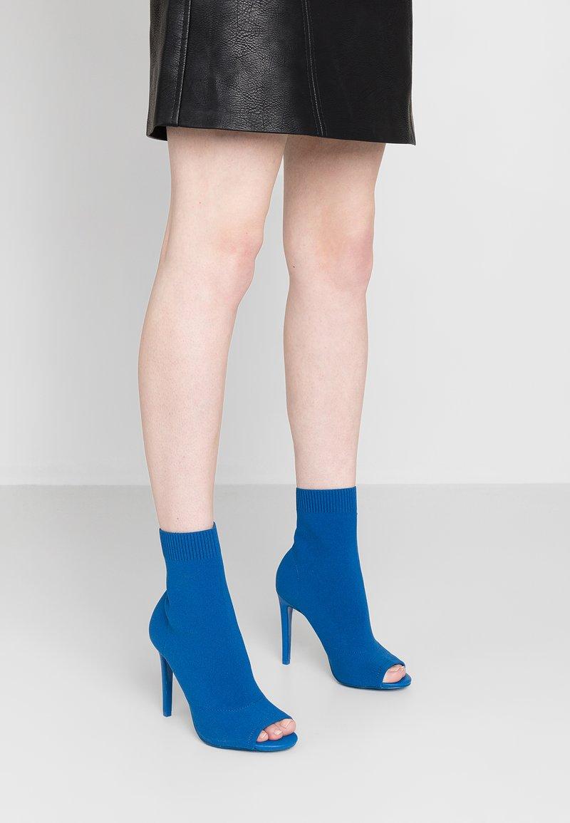ALDO - GECIA - High Heel Stiefelette - bluette