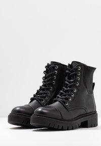 ALDO - ADRIAMA - Botines con cordones - black - 4