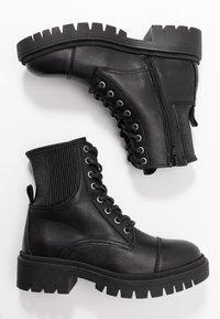 ALDO - ADRIAMA - Botines con cordones - black - 3