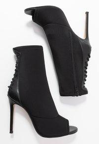 ALDO - LOVIECIA - High heeled ankle boots - black - 3