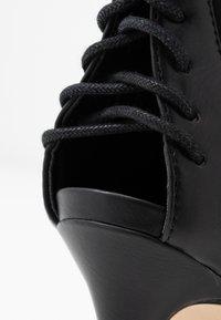 ALDO - LOVIECIA - High heeled ankle boots - black - 2